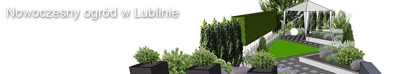 Projekt nowoczesnego ogrodu w Lublinie