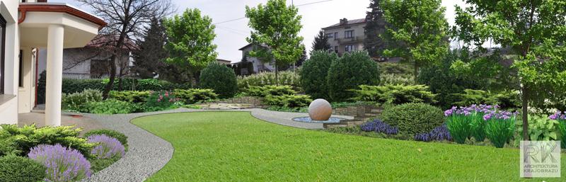 Projekt ogrodu w Przemyślu